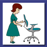 Office Ergonomocs Desktop ohs elearning course Virtual Accident